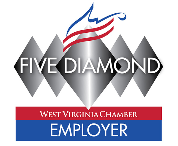 Logo showing that The Health Plan is a Five Diamond Employer